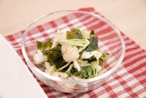 07 香り野菜たっぷり酢サラダ2